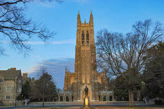 Duke University Image libre de droits