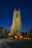 Duke University Chapel Photos libres de droits