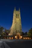 Duke University Chapel fotografie stock libere da diritti