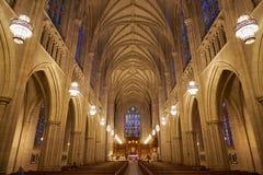 Duke University Chapel Imágenes de archivo libres de regalías