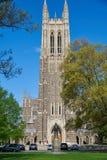 Duke University Chapel Foto de archivo