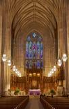 Duke University Chapel Fotos de archivo libres de regalías