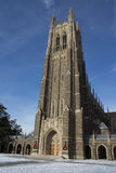 Duke University Chapel Fotografia Stock Libera da Diritti