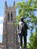 Duke University Chapel fotografia stock