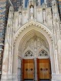 Duke University Chapel immagini stock libere da diritti