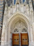 Duke University Chapel imagens de stock royalty free