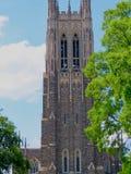 Duke University Chapel fotografia de stock royalty free