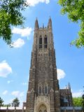 Duke University Chapel imagens de stock