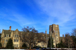 Duke University Residence Hall Royalty Free Stock Photography