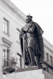 Duke Vytautas Magnus sculpture in Kaunas city Royalty Free Stock Photography