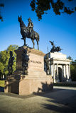 Duke of Wellington statue and arch in London Stock Image