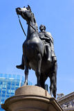 Duke of Wellington Statue in London Royalty Free Stock Photo