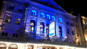 Duke of York theater in London plays Touching the Void - LONDON, ENGLAND - DECEMBER 11, 2019