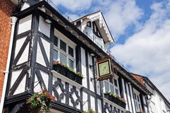 Dukes Head Pub, Leominster. Royalty Free Stock Images