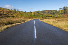Dukes Pass, Scottish Highlands in autumn Royalty Free Stock Photos