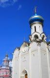 Dukhovskaya church of Trinity Sergius Lavra. UNESCO World Herit Royalty Free Stock Photos