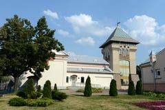 Dukhovskoy kruglik och mässhallen av museum`en Vitebsk centrerar för samtida konst`, arkivfoto