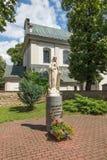 Dukla, Πολωνία - 20 Ιουλίου 2016: Αριθμός που προσκαλεί τη Mary για να προσεηθεί Στοκ Φωτογραφίες