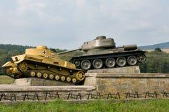 Dukla Pass memorial - Slovakia Royalty Free Stock Photos