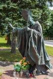 Dukla, Polen - 20. Juli 2016: Statue von St. John Paul III in Franc stockfotos