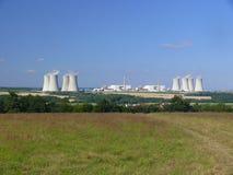 dukovany核发电站 图库摄影
