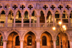 Duks palace on st. Marks square in Venice Italy Stock Photography