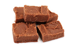 Dulce de azúcar de chocolate hecho en casa Imágenes de archivo libres de regalías