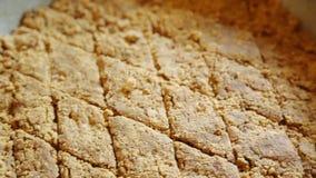 Dulce de azúcar de la nuez Fotos de archivo libres de regalías
