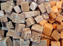 Dulce de azúcar del dulce del caramelo Foto de archivo libre de regalías
