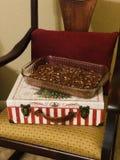 Dulce de azúcar hecho en casa de la Navidad fotos de archivo libres de regalías