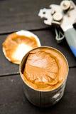 Dulce de Leche. Caramel. Dulce de leche in a can Stock Photos