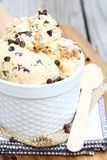 Dulce de Leche Chocolate Chip Ice Cream Royalty Free Stock Photo