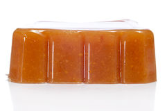 Dulce de membrillo, quince jelly, typical of Spain Royalty Free Stock Photography