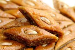 Dulce de Ramadan - paklava y badam Fotos de archivo libres de regalías