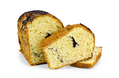 Dulce del pan con los gérmenes de amapola Fotografía de archivo libre de regalías
