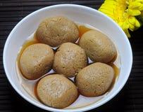 Dulce indio - Rasagulla fotos de archivo libres de regalías