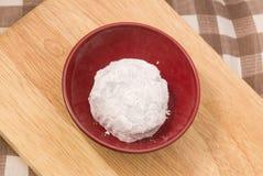 Dulce japonés de la fresa Mochi o Ichigo Daifuku Foto de archivo