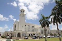 Dulce Nombre de Maria Cathedral Basilica. In Guam Stock Photography