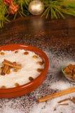 Dulce portoricano di imbroglione del arroz Fotografie Stock