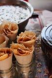 Dulce tradicional tailandés Foto de archivo