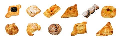 Dulce y panadería no dulce Fotos de archivo