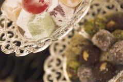 Dulces árabes Fotos de archivo libres de regalías