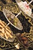 Dulces árabes Foto de archivo