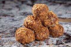 Dulces útiles dulces hechos a mano para la salud fotografía de archivo libre de regalías