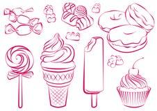 Dulces ilustración del vector
