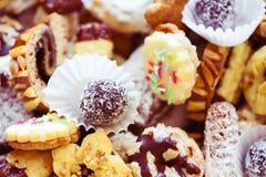 Dulces adornados checos típicos de la Navidad Foto de archivo libre de regalías