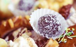 Dulces adornados checos típicos de la Navidad Fotografía de archivo