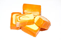 Dulces anaranjados Fotos de archivo libres de regalías