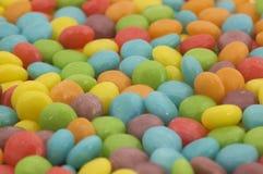 Dulces coloreados brillantes del caramelo Imagen de archivo libre de regalías