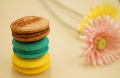 Dulces coloridos Imagen de archivo libre de regalías